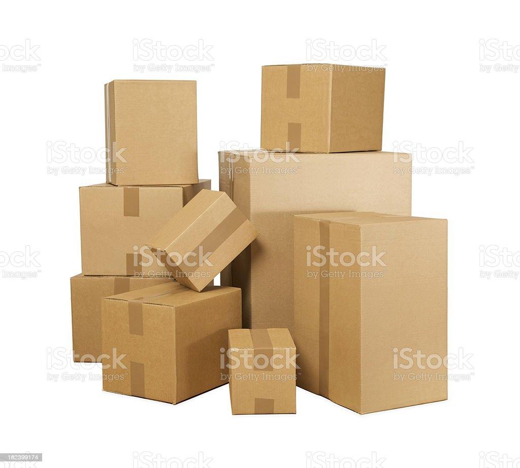 Boxes... royalty-free stock photo