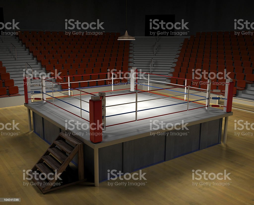 Boxing Arena royalty-free stock vector art