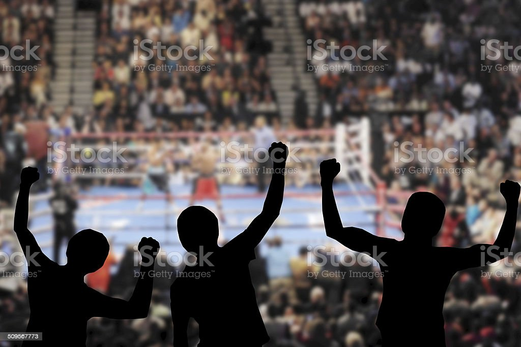 Boxing Event stock photo