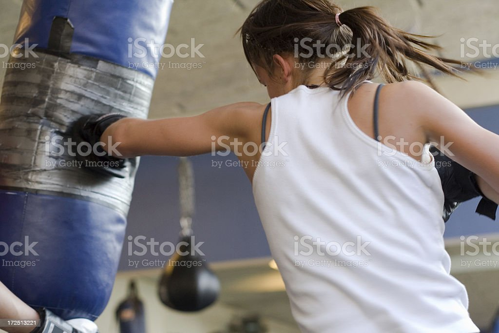 Boxing Fitness royalty-free stock photo