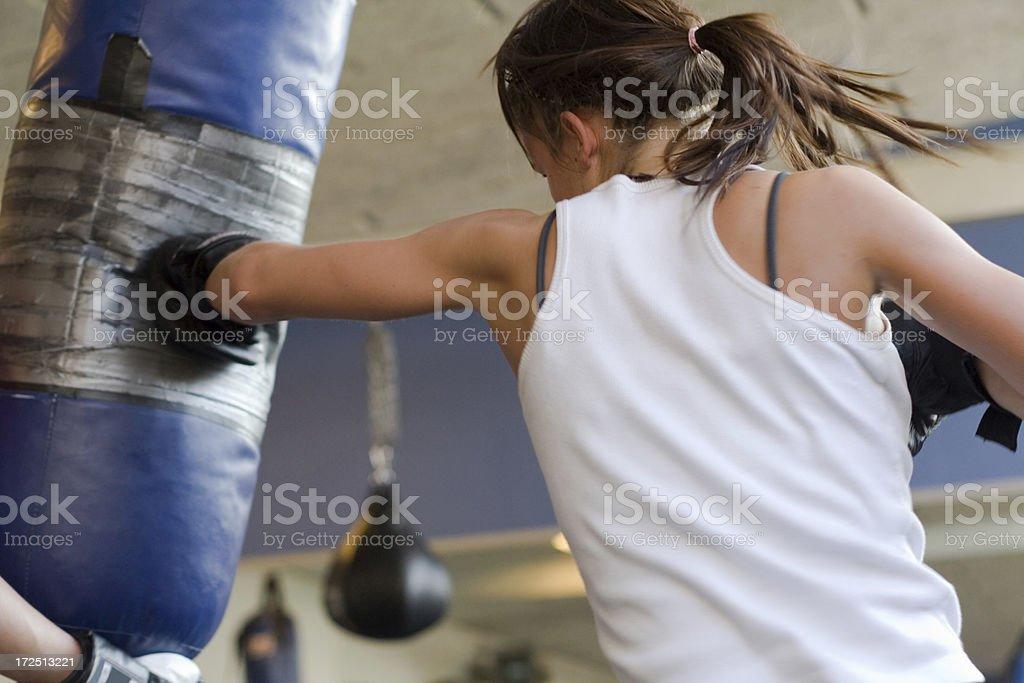 Boxing Fitness stock photo