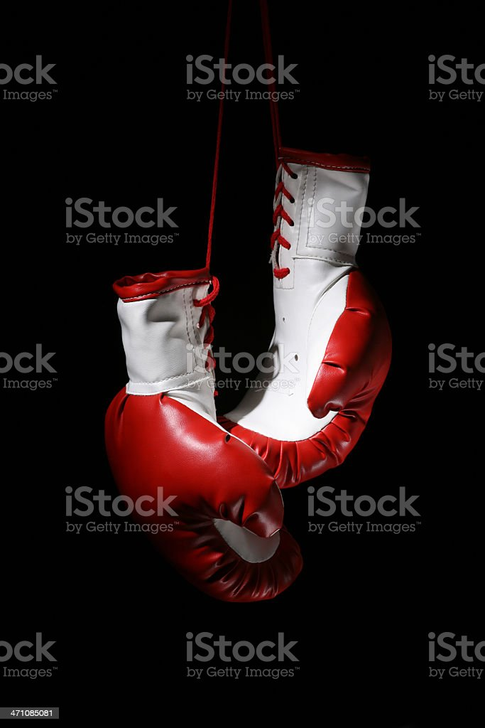 Boxing gloves royalty-free stock photo