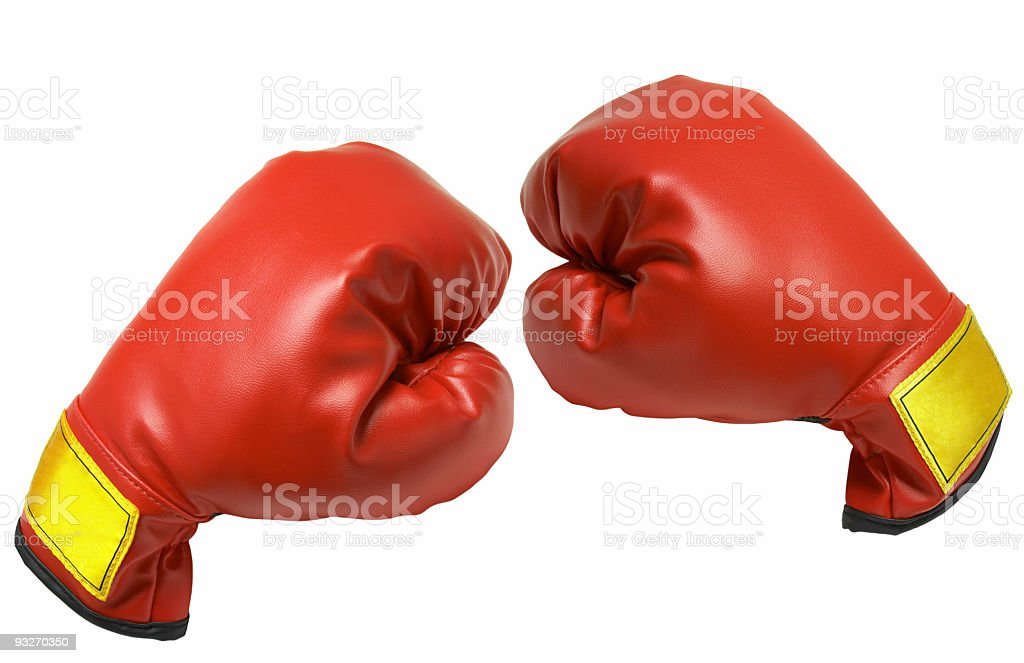 Boxing Gloves #1 royalty-free stock photo
