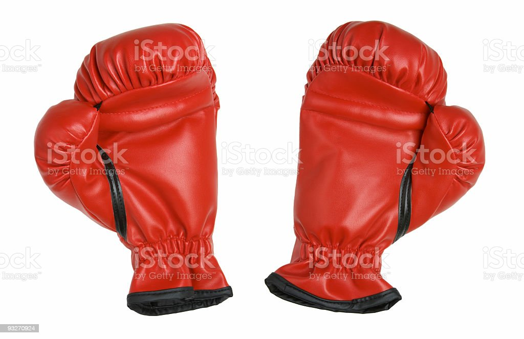 Boxing Gloves #4 royalty-free stock photo