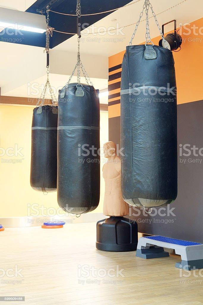 boxing hall stock photo