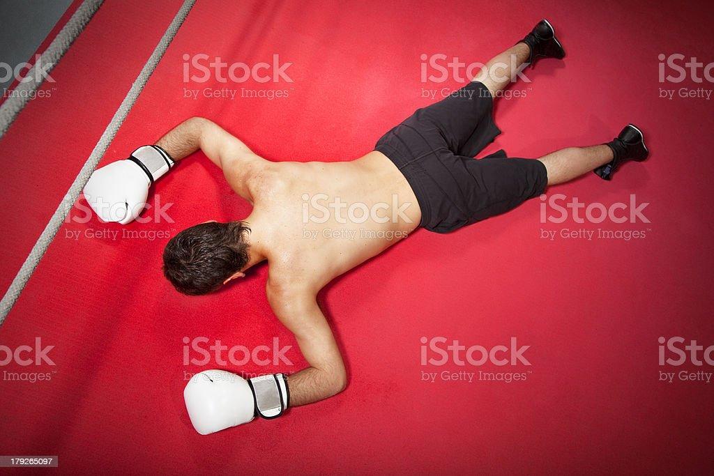 boxing royalty-free stock photo