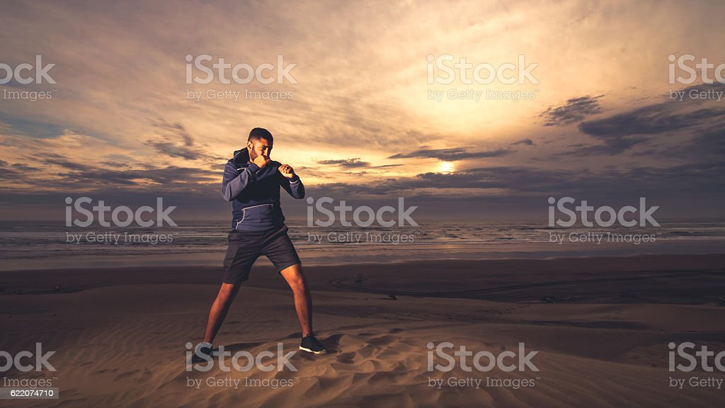 Boxing. stock photo
