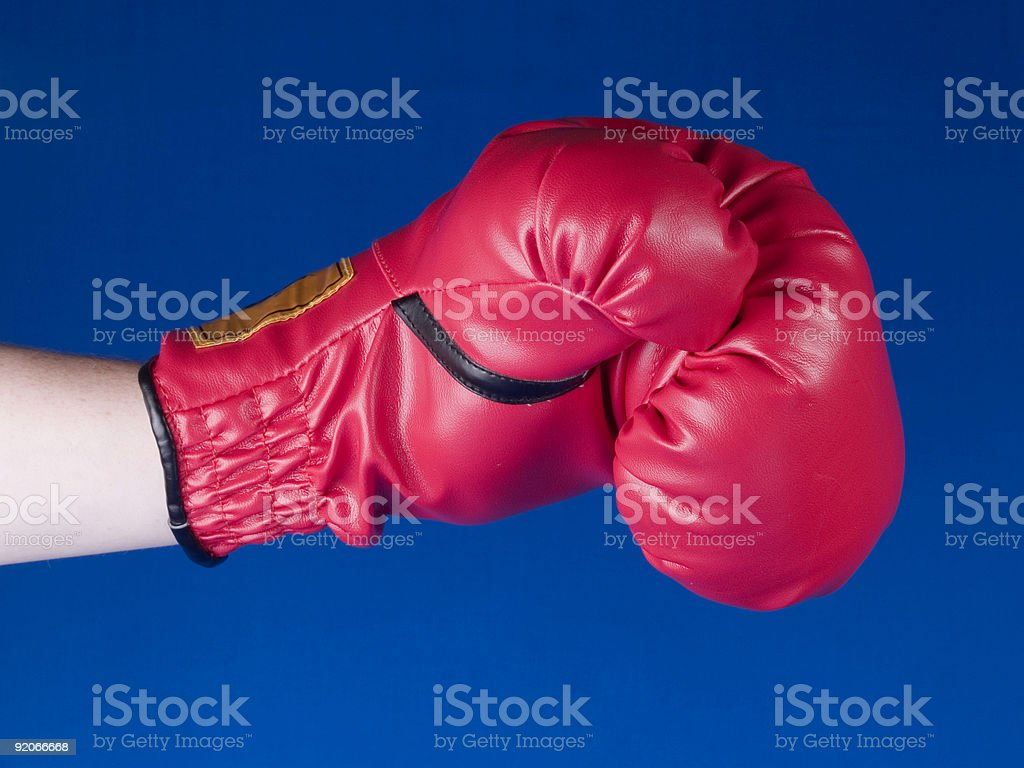 Boxing Punch stock photo