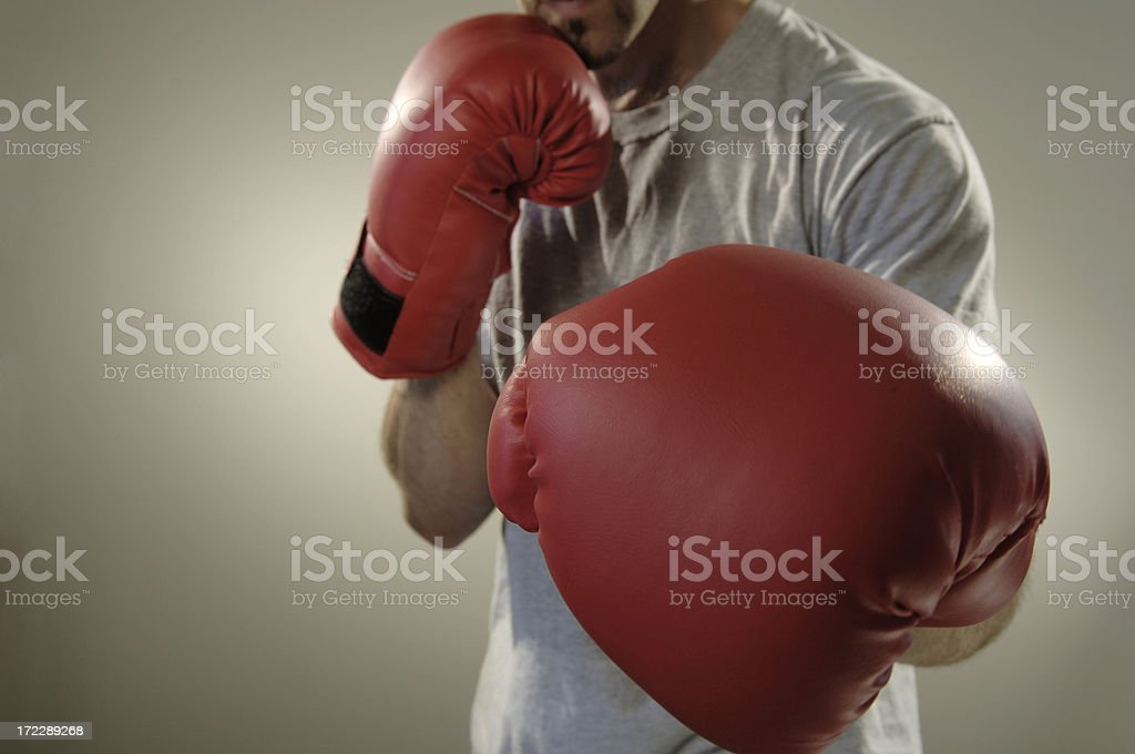boxing series royalty-free stock photo