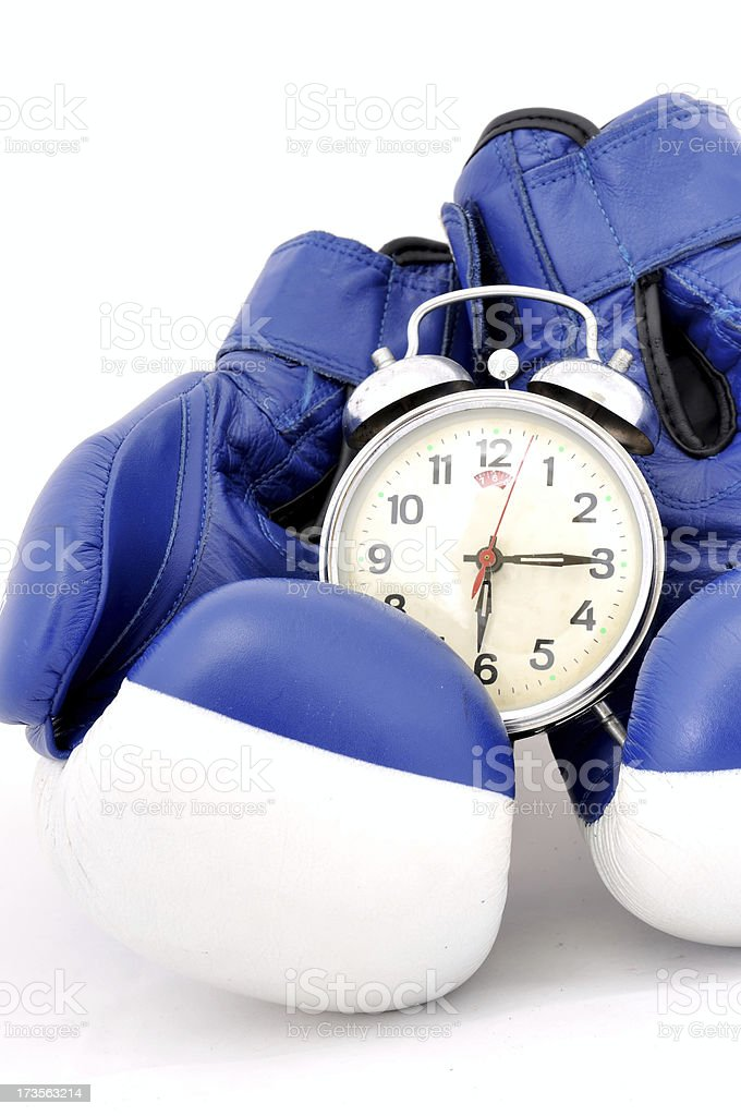 boxing time royalty-free stock photo