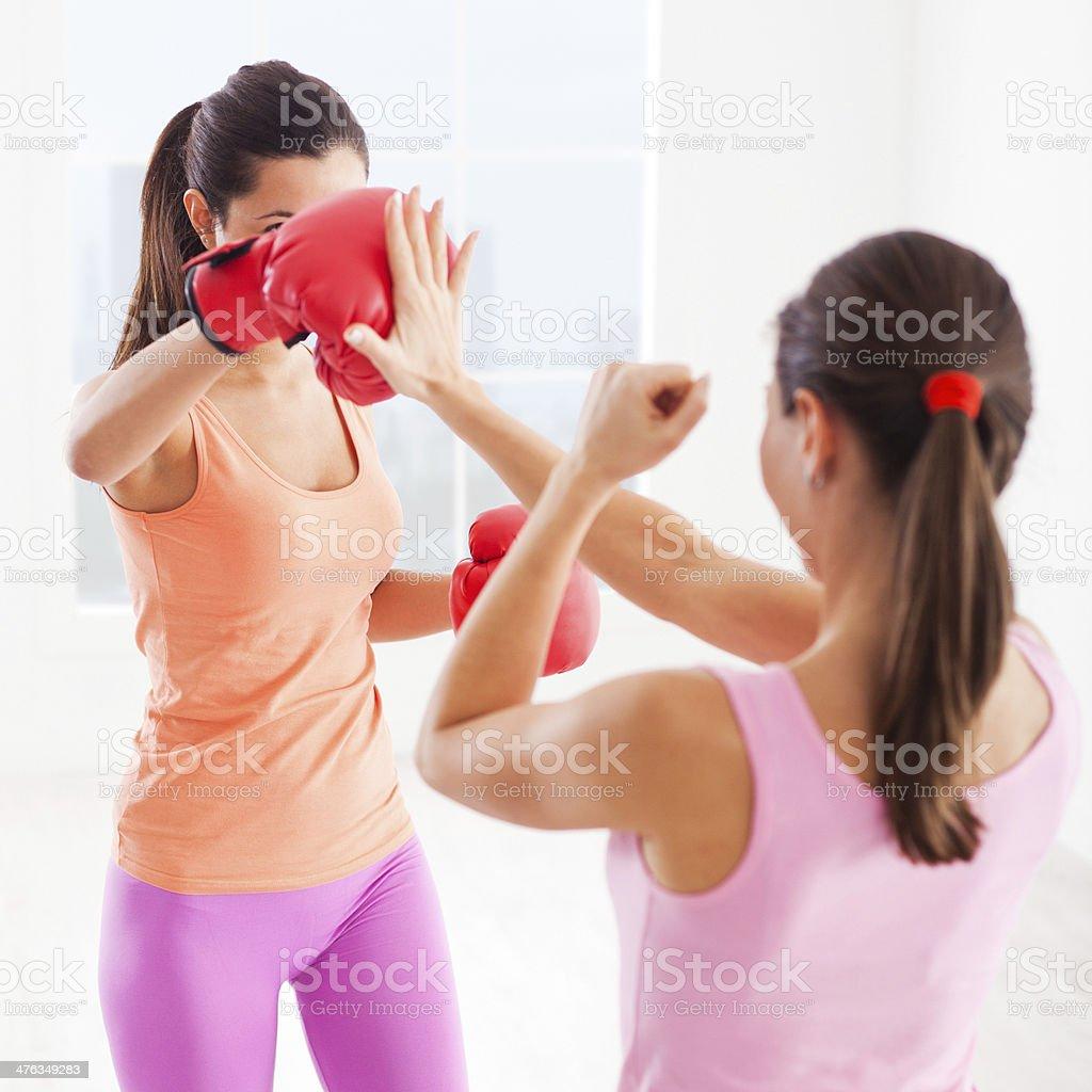 Boxing Training royalty-free stock photo