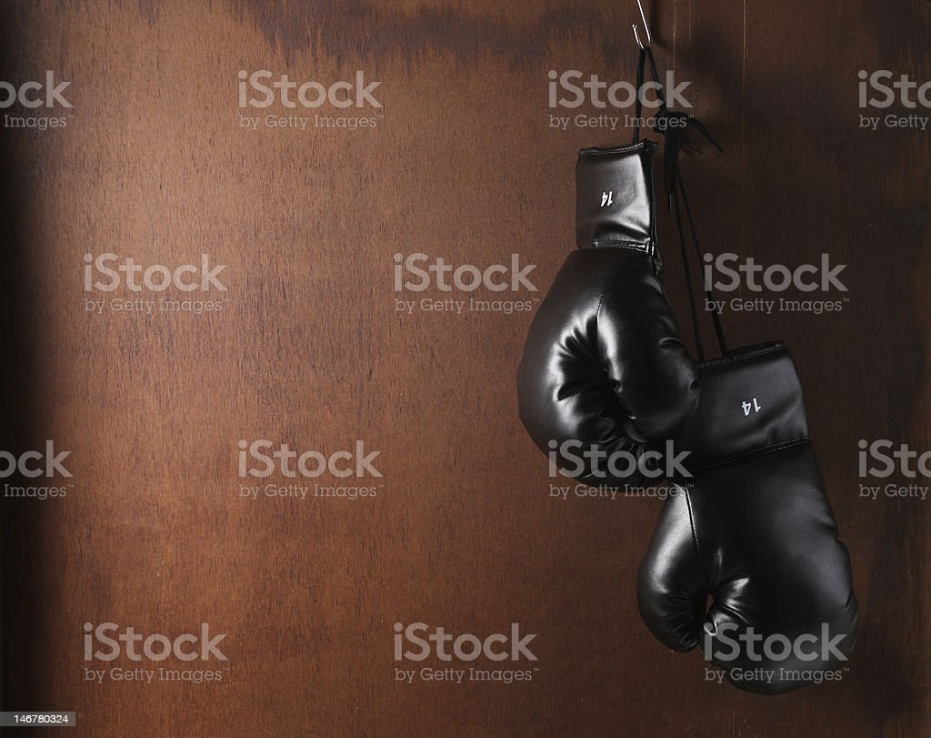 Boxing-glove royalty-free stock photo