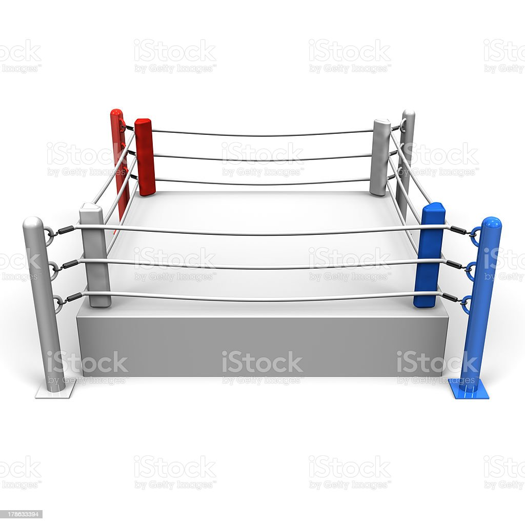 BoxingRing stock photo