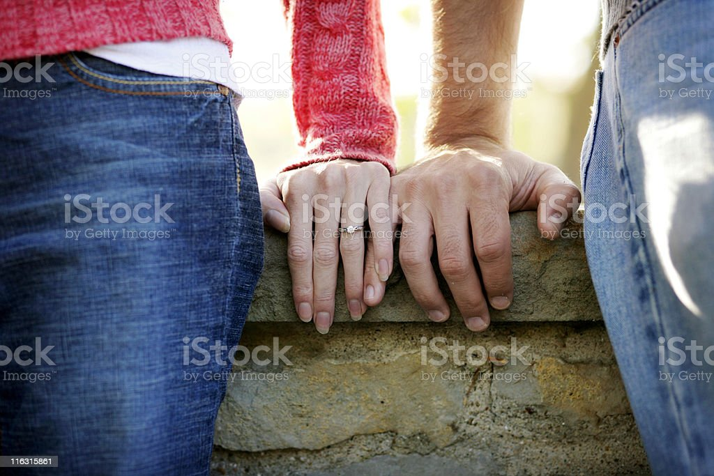 Boy and a Girl stock photo