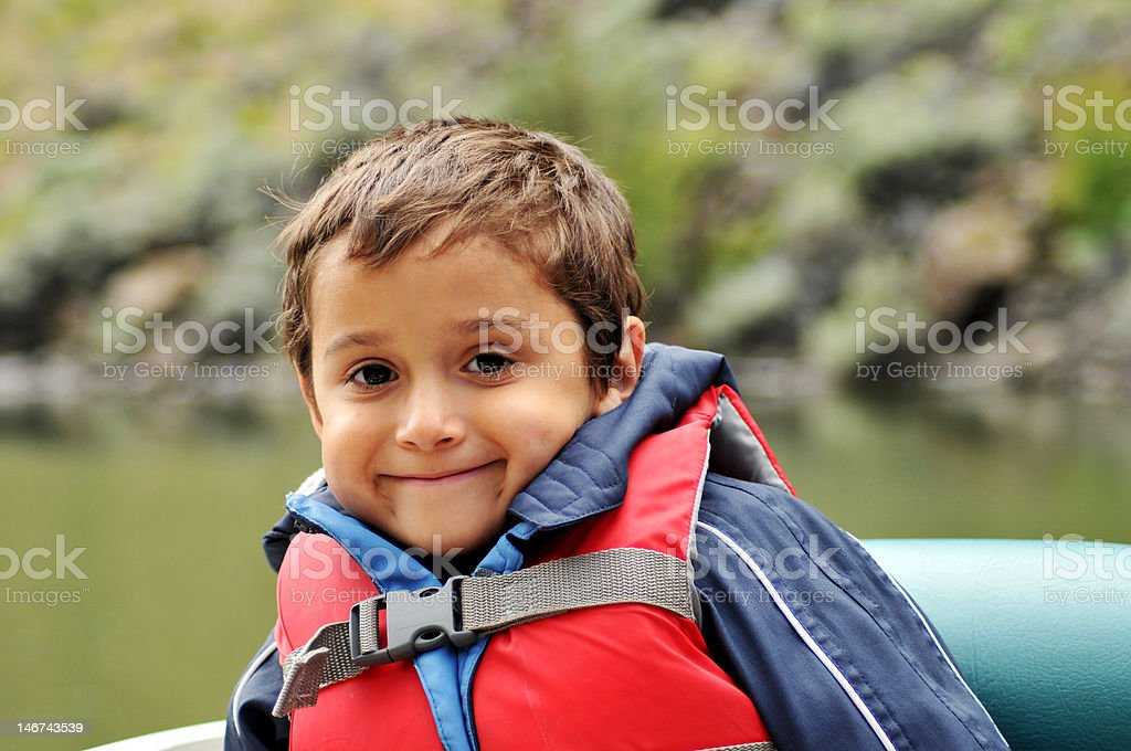 Boy and Life royalty-free stock photo