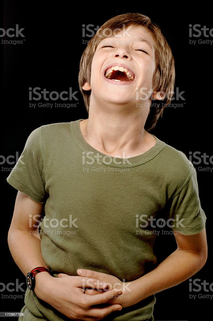 Boy, Emotion, Laughing royalty-free stock photo