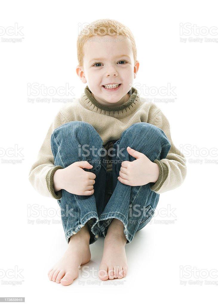 Boy Having Fun royalty-free stock photo
