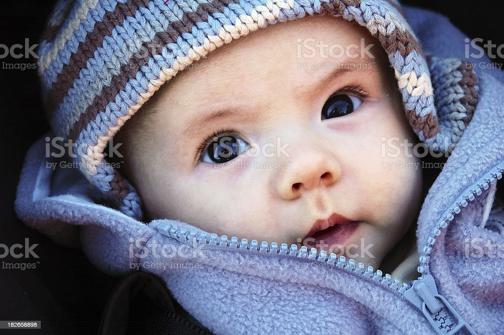 boy in hat royalty-free stock photo