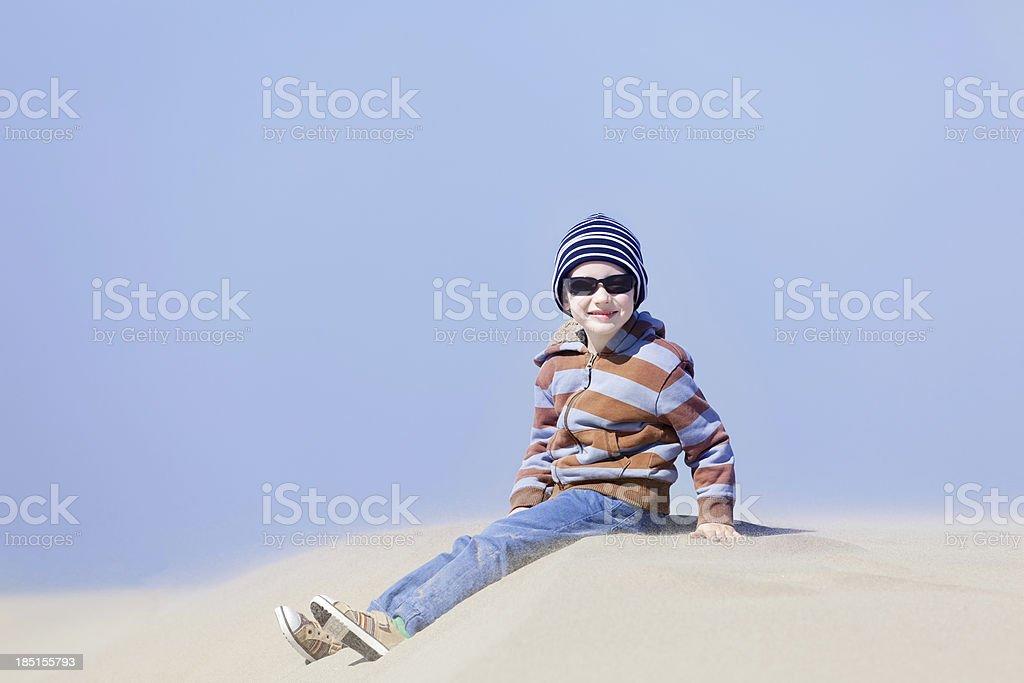 boy in oregon royalty-free stock photo