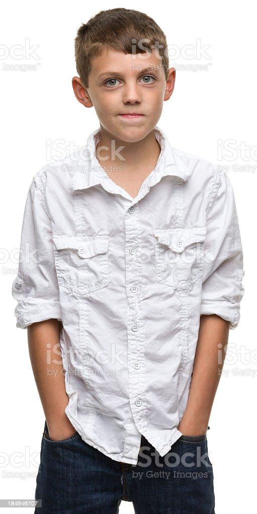 Boy Portrait royalty-free stock photo