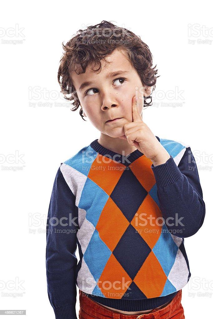 Boy portrait stock photo