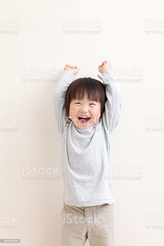 boy smile stock photo