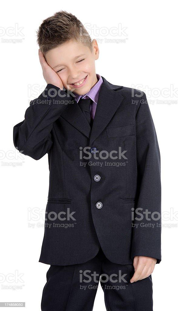 boy smiling royalty-free stock photo