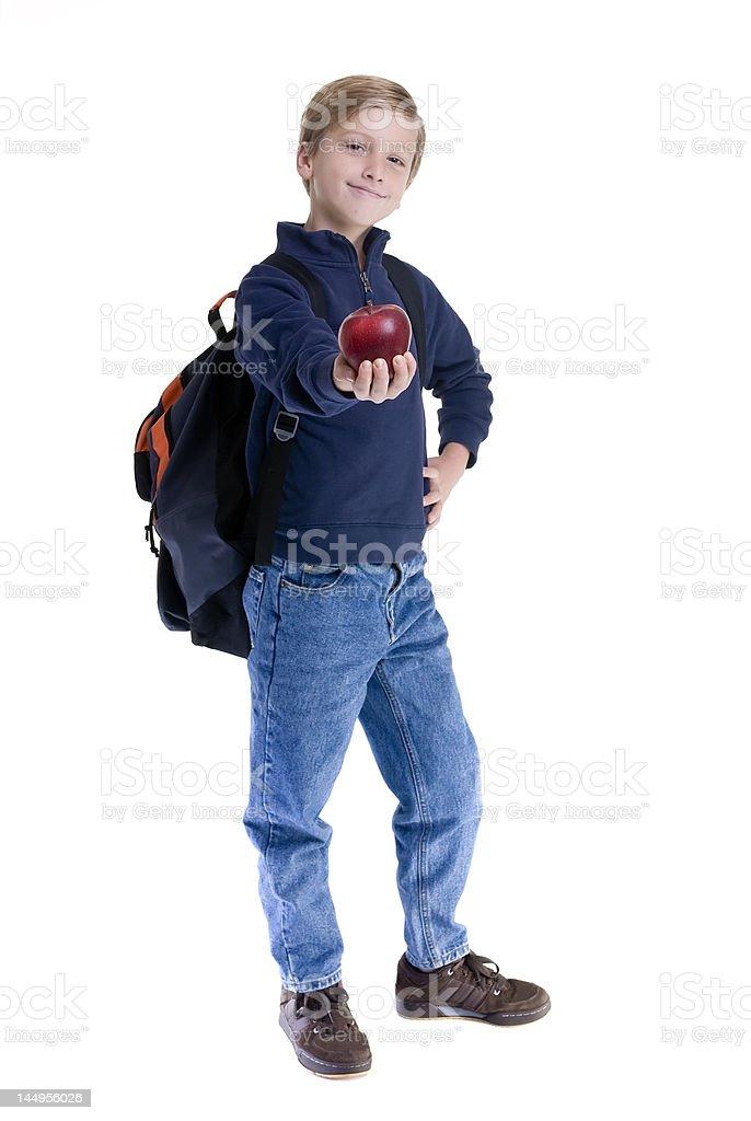 Boy Student royalty-free stock photo