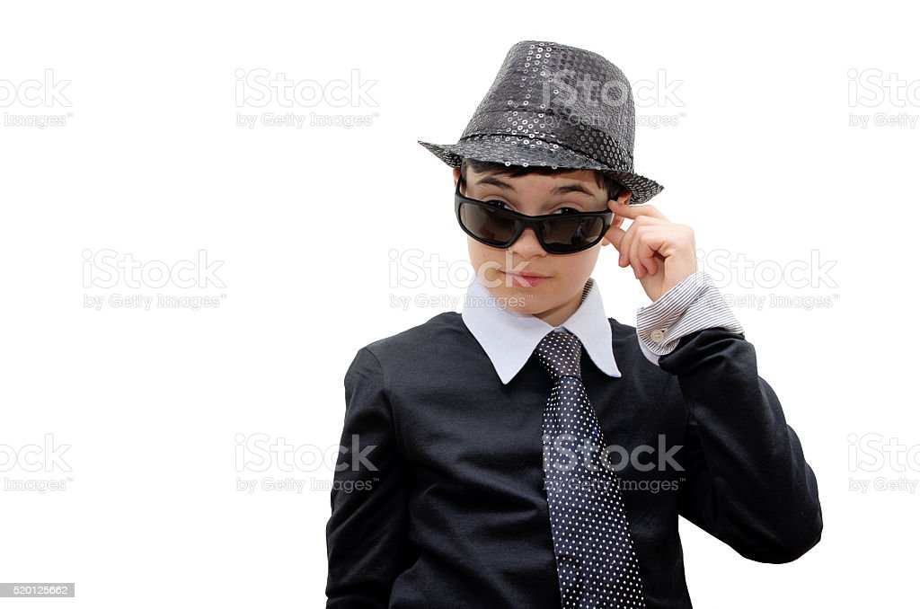 Boy with carnival costume royalty-free stock photo