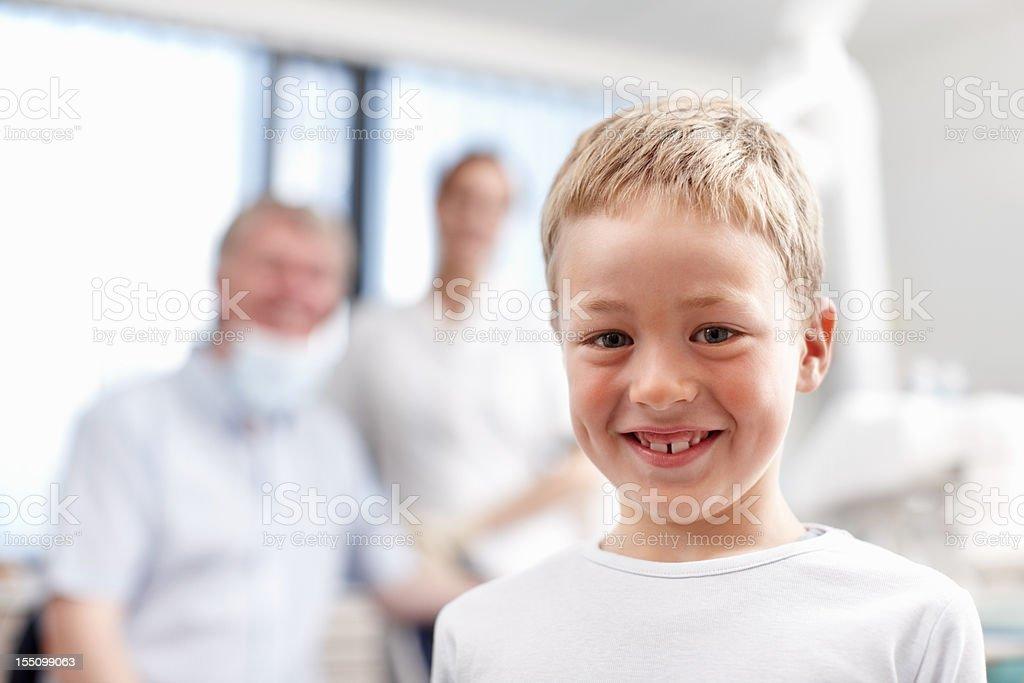 Boy with healthy teeth royalty-free stock photo