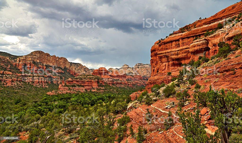 Boynton Canyon Sedona Arizona stock photo