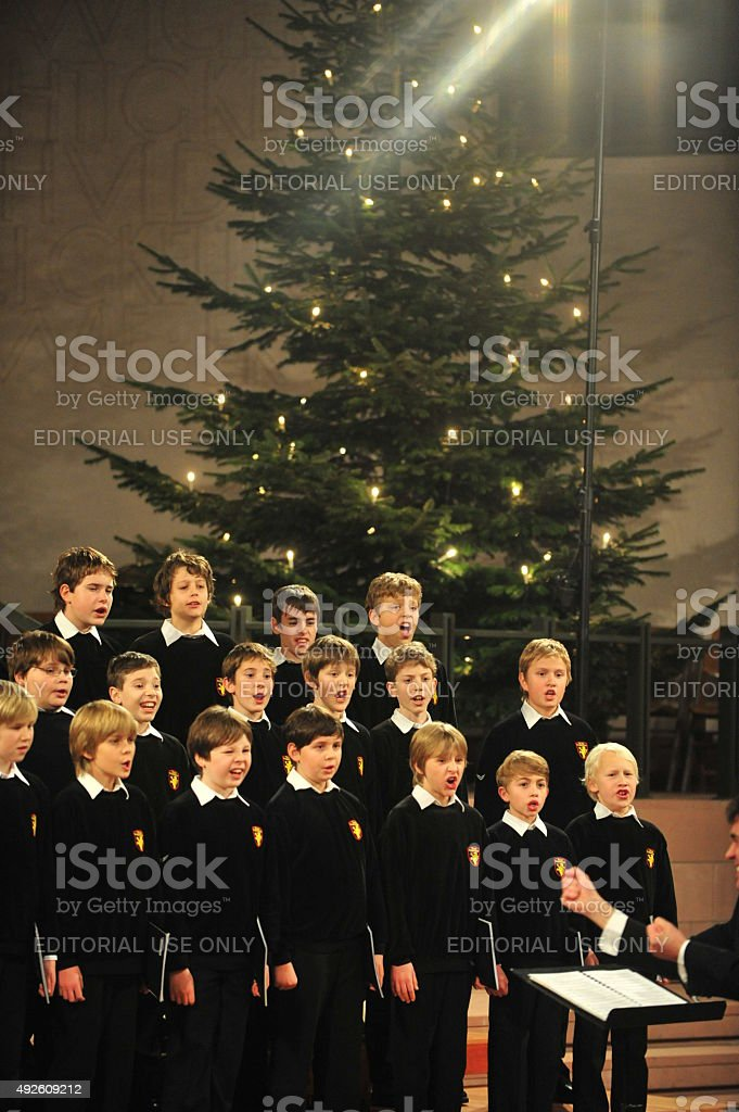 Boy«s choir stock photo