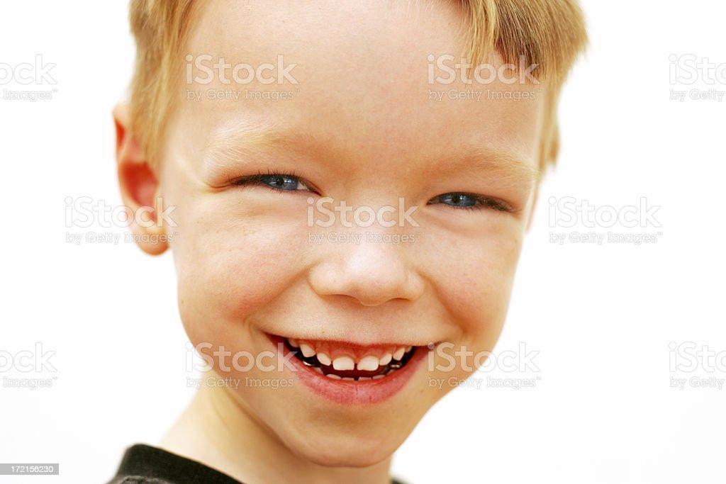 Boys Smile stock photo