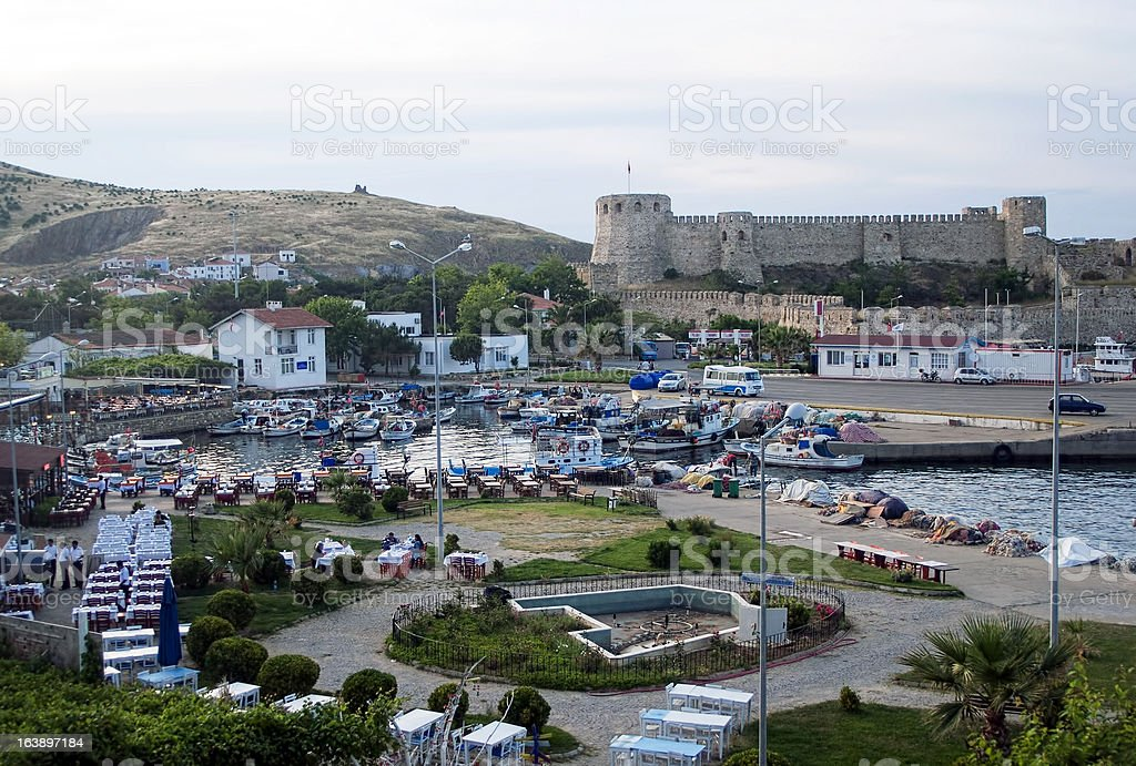 Bozcaada (Tenedos) royalty-free stock photo