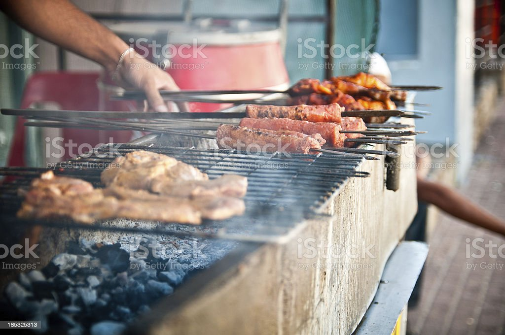 Braai stock photo