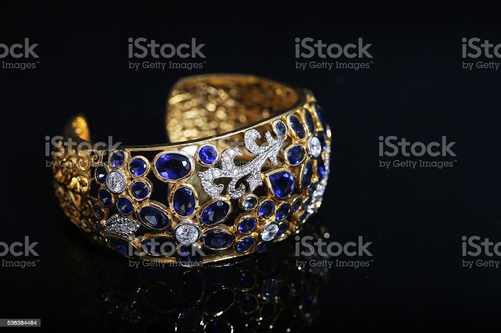 bracelet, Bangle old thai antique style stock photo