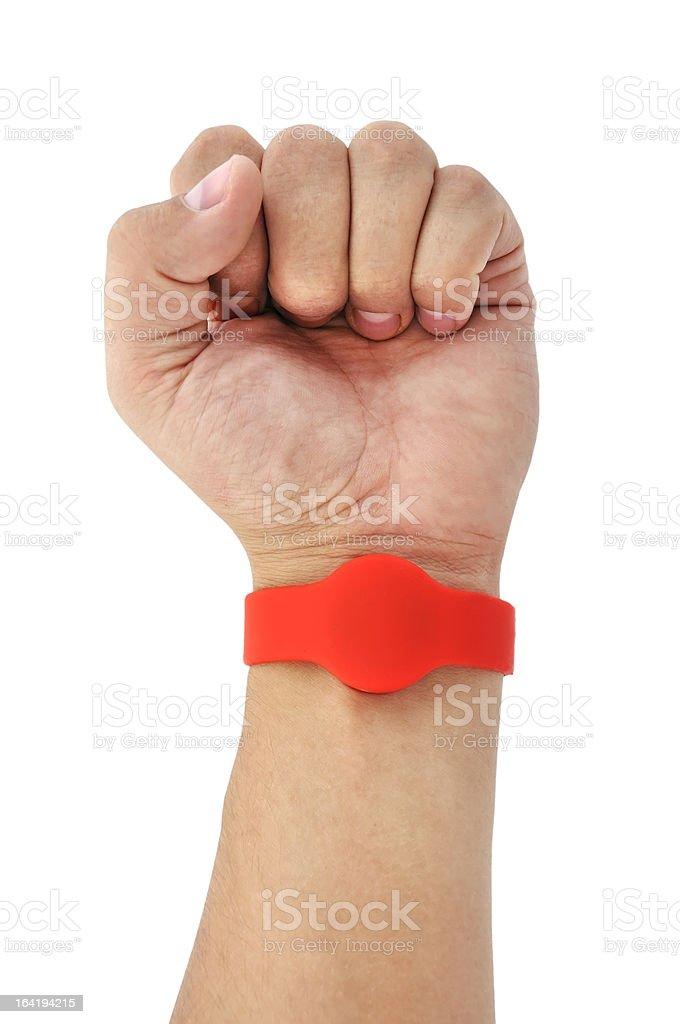 RFID  Bracelet stock photo