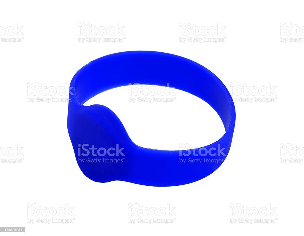 RFID bracelet royalty-free stock photo