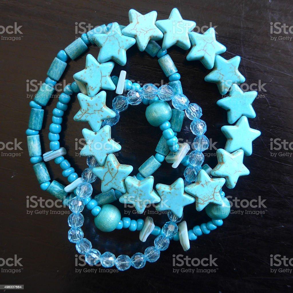 Bracelets y necklaces para niños, Bild foto de stock libre de derechos