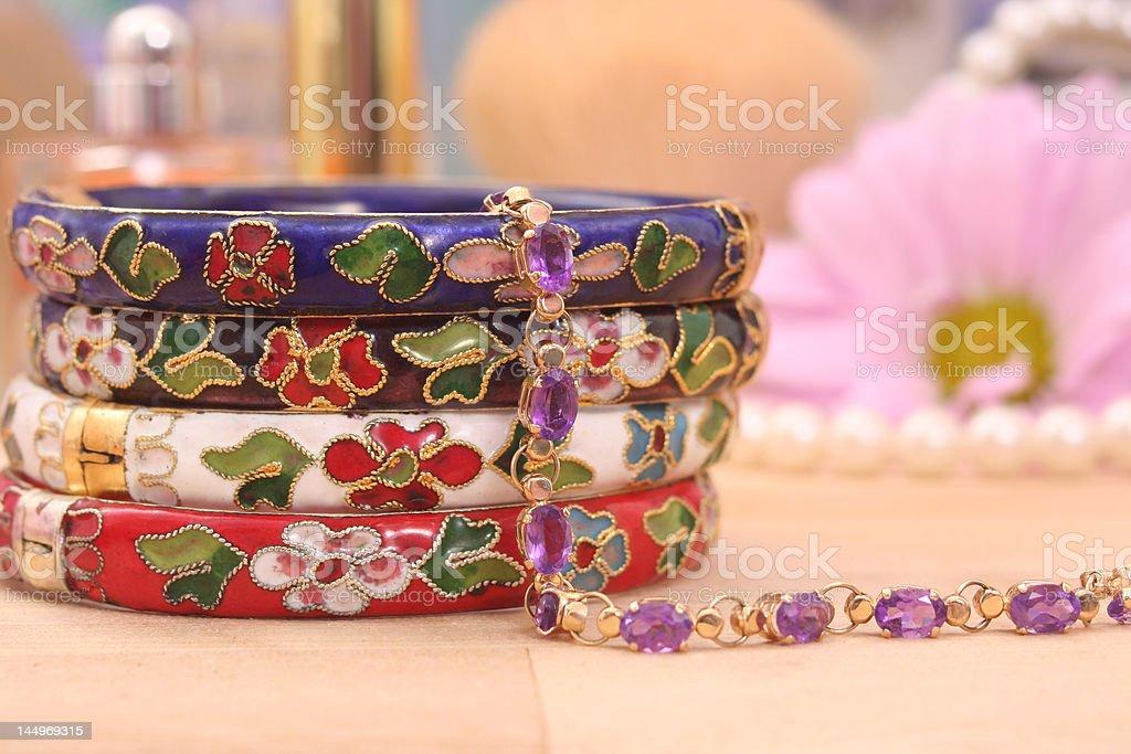 Bracelets royalty-free stock photo