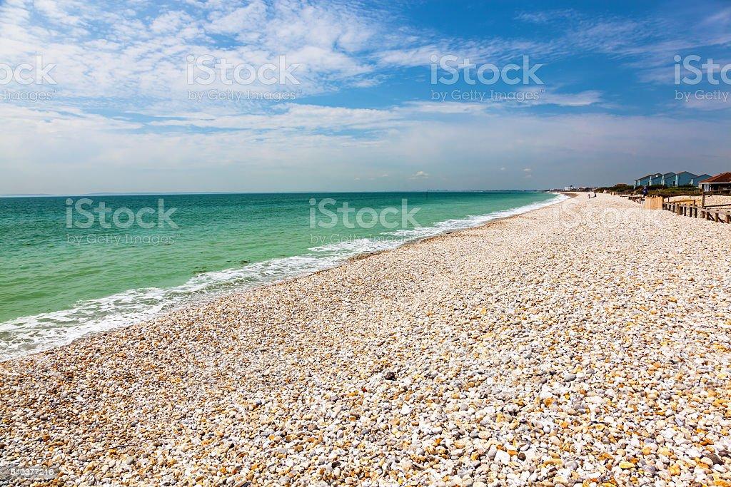 Bracklesham Bay West Sussex, England stock photo