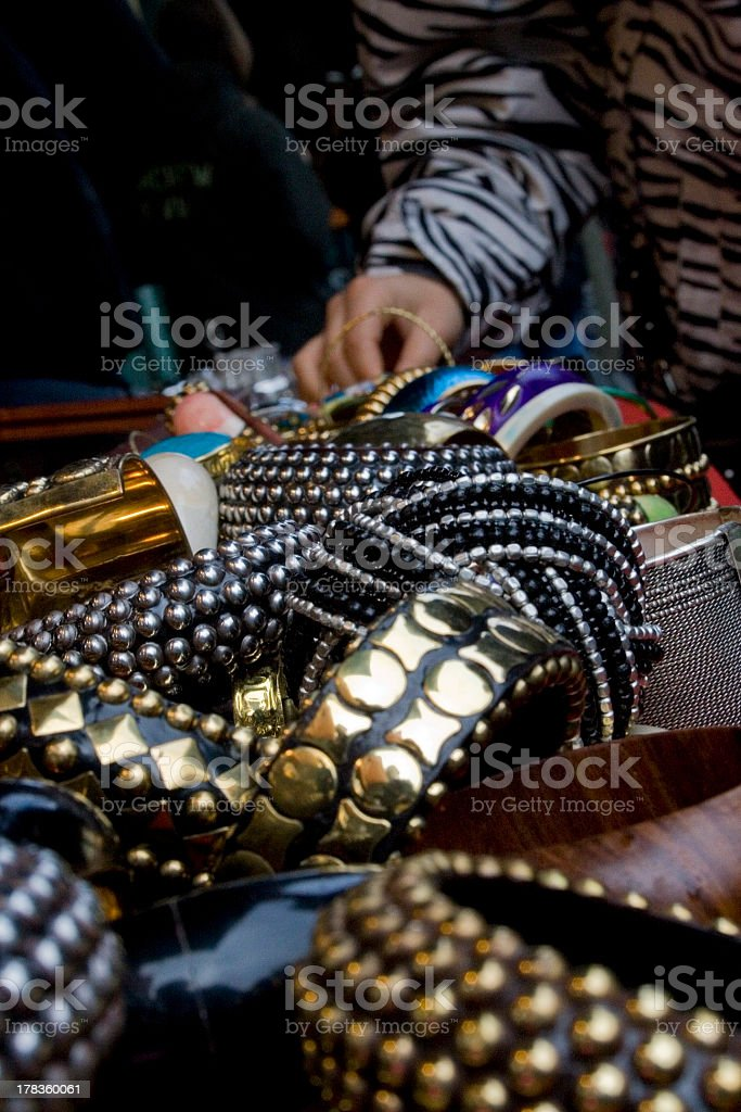Braclet and Bangles royalty-free stock photo