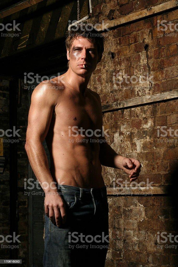 Brad Pitt anyone? stock photo
