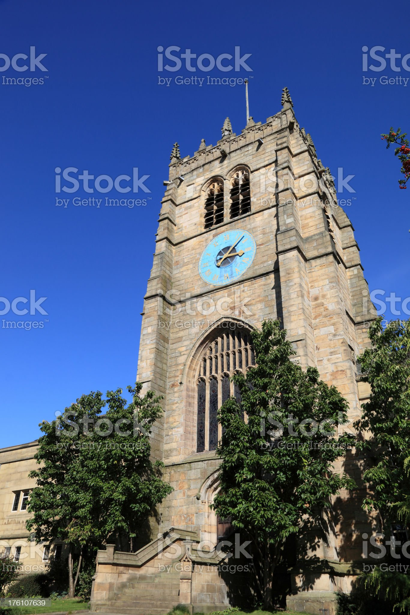 Bradford Cathedral royalty-free stock photo