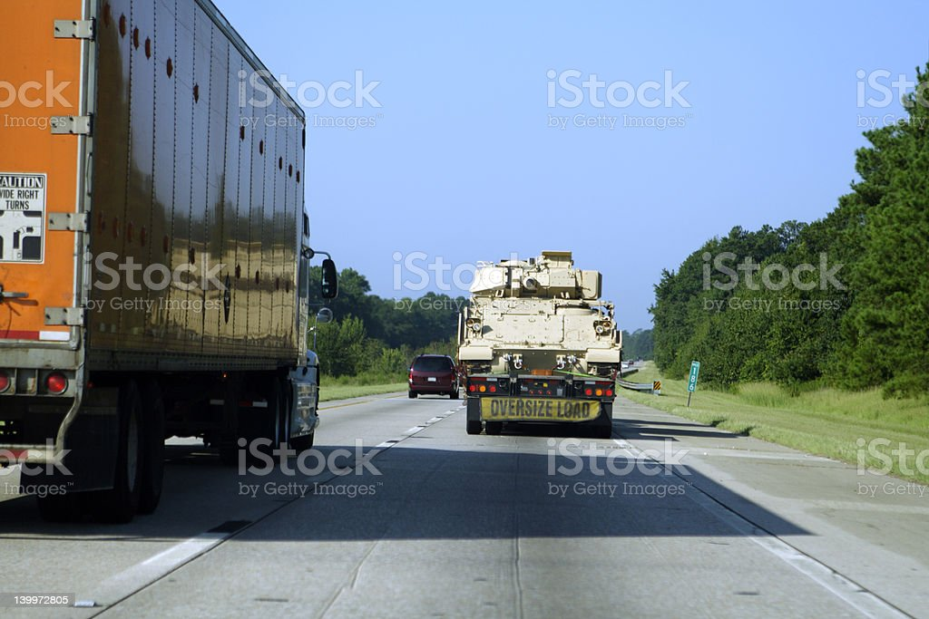 Bradly on the Road royalty-free stock photo