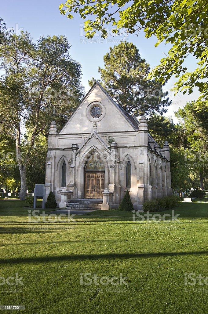 Brady Chapel royalty-free stock photo
