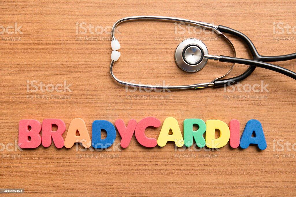 Bradycardia stock photo
