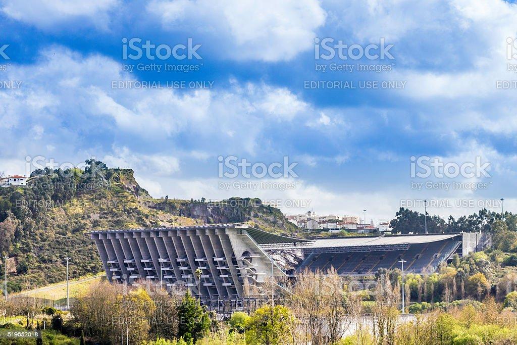 Braga Axa stadium for Sporting Club of Braga stock photo