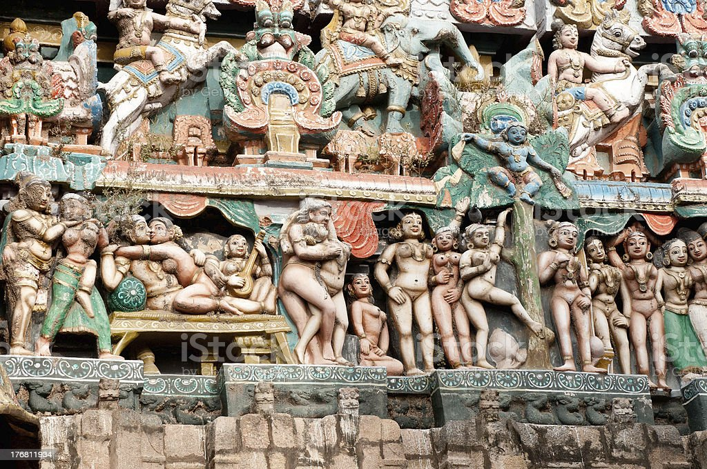 Bragadeeswara Temple royalty-free stock photo