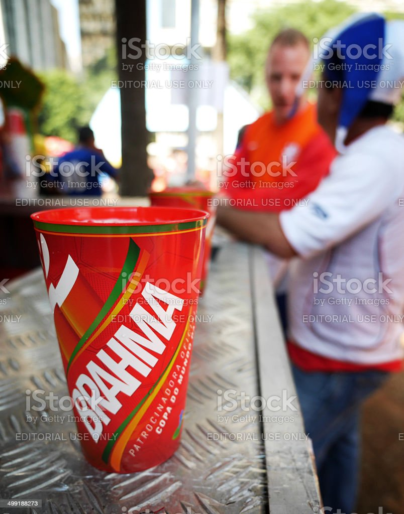 Brahma, 2014 World Cup sponsor stock photo